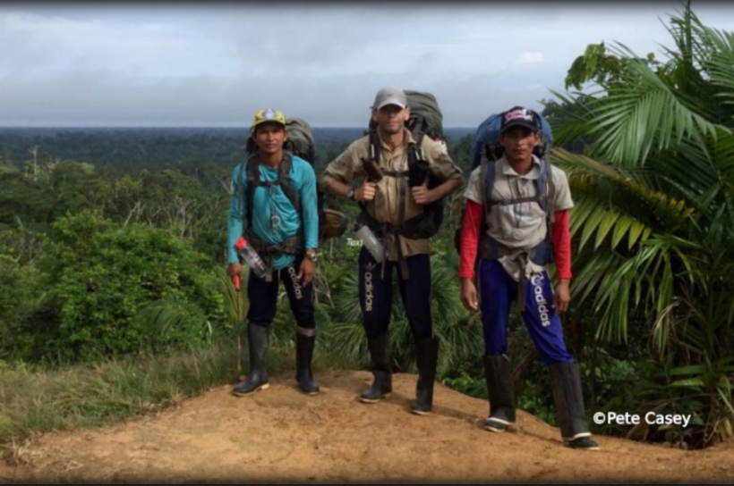 Ascent of the Amazon