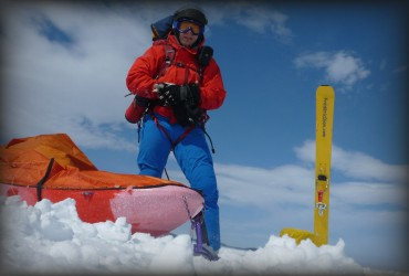 South Pole solo expedition
