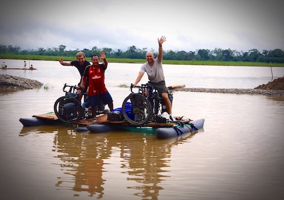 Polish Brothers bike the Amazon